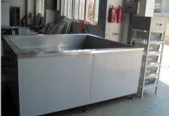 单槽压铸件超声波清洗机