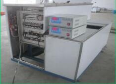 三槽手动线路板溶剂超声波清洗机