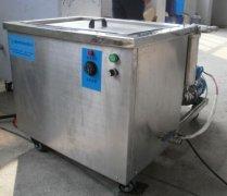 单槽金属零件超声波清洗机