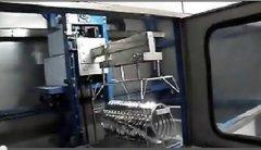 全自动不锈钢冲压件超声波清洗机视频