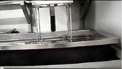 全自动单臂超声波清洗机视频