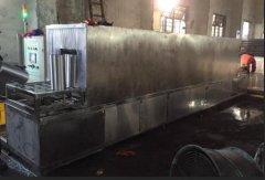 无锡精密钢管高压喷淋清洗机成功案例
