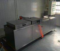 常州四槽铝合金零件超声波清洗机成功案例