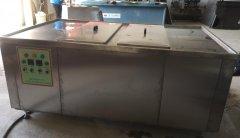 两槽铝合金散热器超声波清洗机